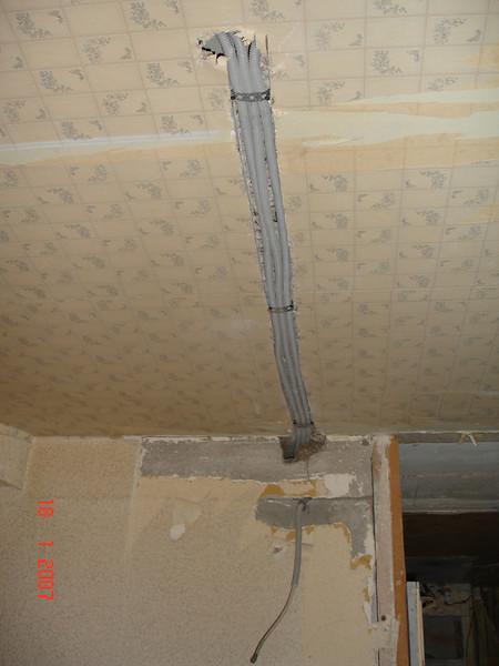 2007-01-18 Новая квартира - Штробы