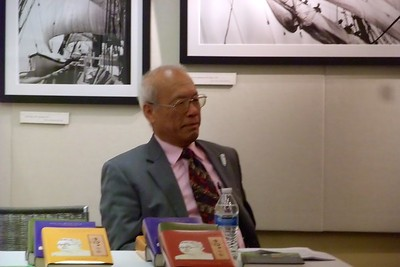 "Dr. Jen-shih Lee's Lecture on ""Victory for Mankind, 仁師義戰與世界和平"", 2/21/15"