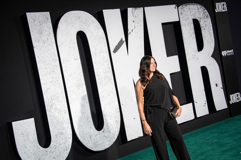"HOLLYWOOD, CALIFORNIA - SEPTEMBER 28: Emma Tillinger Koskoff attends the premiere of Warner Bros Pictures ""Joker"" on Saturday, September 28, 2019 in Hollywood, California. (Photo by Tom Sorensen/Moovieboy Pictures)"