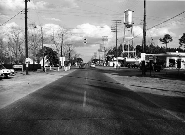 301 intersection February 16 1954 FDOT.jpg