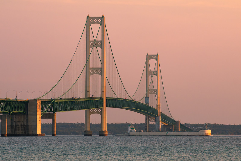 Laker under the Mighty Mac.