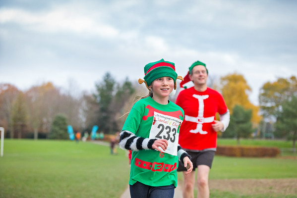 Santa vs Elves Fun Run with St. Catherine's Hospice