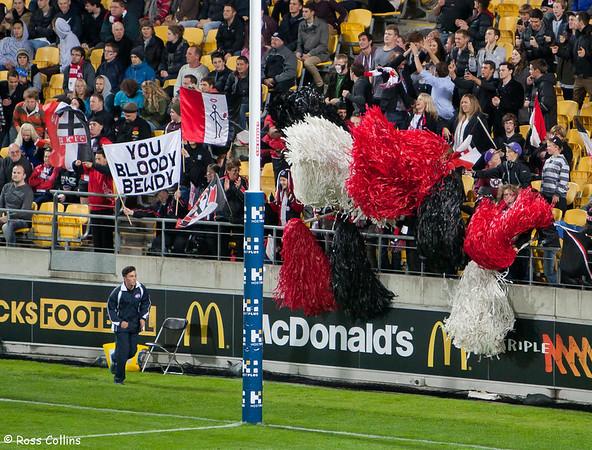St Kilda Saints vs. Sydney Swans 2013