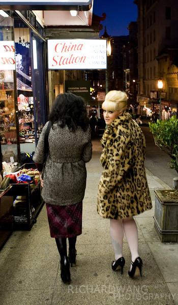 Heather Nikki Cholo Photoshoot Chinatown