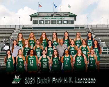 2021 Girl Lacrosse Varsity