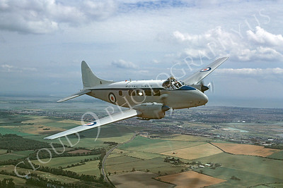 British RAF  de Havilland Devon Military Airplane Pictures