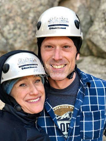 October 28 2018 Hilary Boulder Rock Climbing