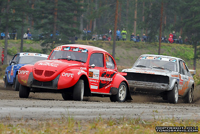 06.08.2011 | Rallicross SM, Joensuu