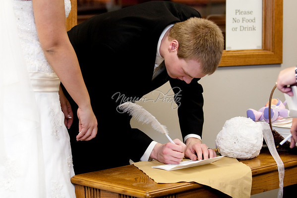 Marriage License - Andrea and Aaron