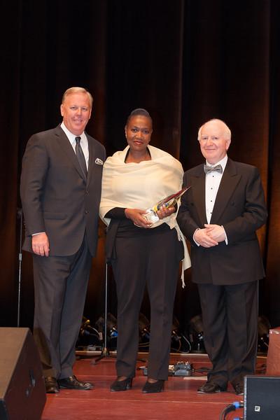 The DMAI Destination Marketing Humanitarian Award was won by Johannesburg Tourism and collected by Nabintu Petsana, Head of Tourism