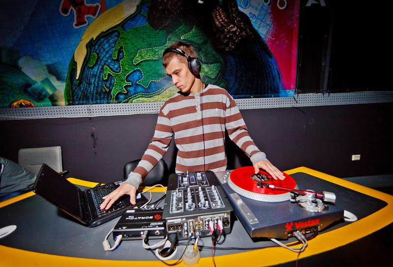 DJ at Games Day #2
