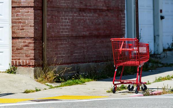 Pushing Carts