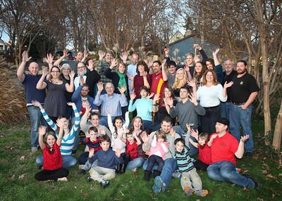 Bradley Family Christmas 2015