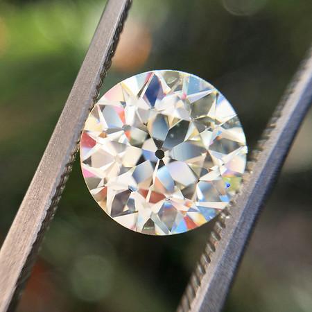 2.43ct Old European Cut Diamond, AGS L, VS2
