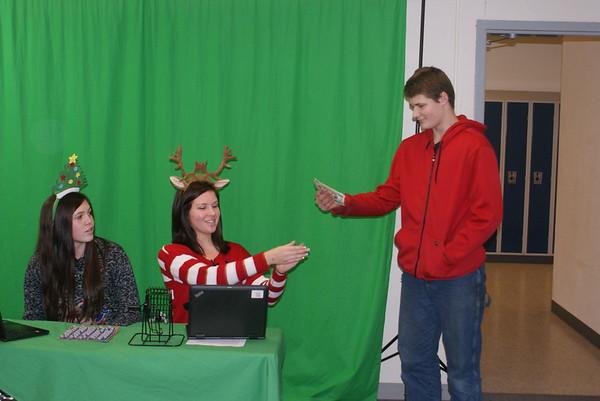 B-B-E high school Santa/Christmas bingo