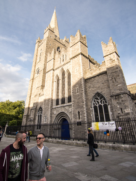 St Patrick's Cathedral in Dublin