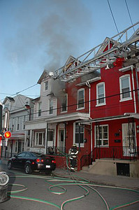POTTSVILLE CITY STRUCTURE FIRE 6-19-08