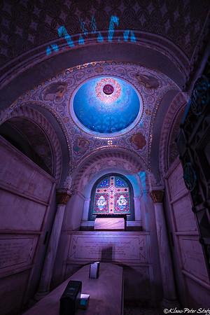 Woodlawn Illuminated Mausoleums 2018