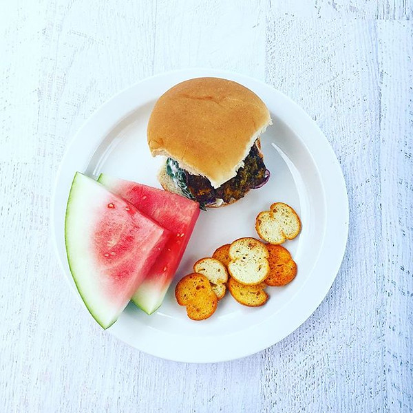 Last_official_barbecue_of_summer__mustard_crusted_burgers__watermelon_and_bruschette..jpg