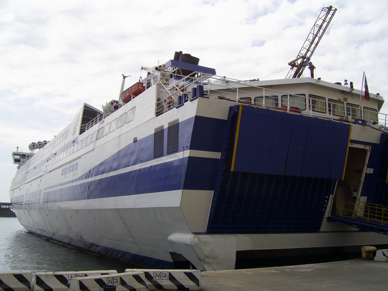 2007 - HSC CAPRICORN laid up in Napoli.
