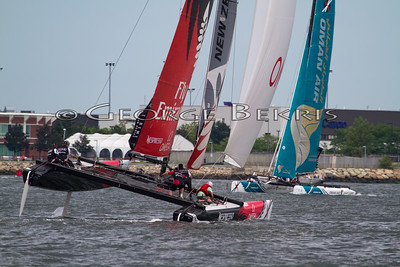 Extreme Sailing Series Boston June 30- July 4, 2011