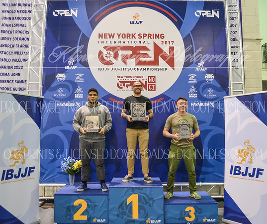 Podium Pics Day Two NY Spring Open 4/9/17