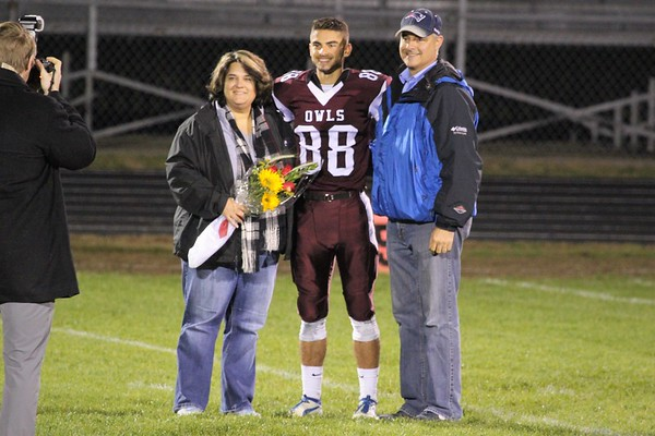 Football Senior Night - Oct 27, 2017