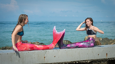 Mermaids Marissa & Skyla