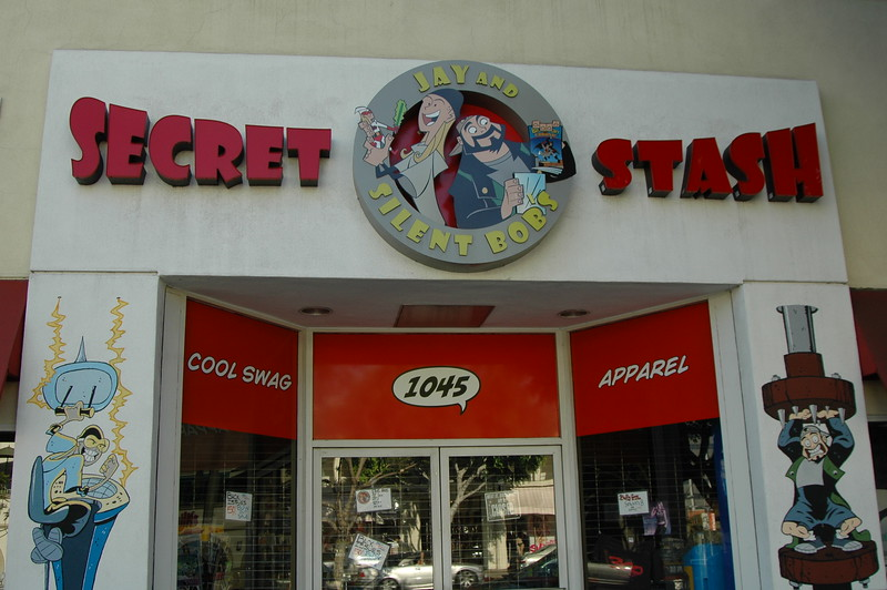 Jay and Silent Bob shop