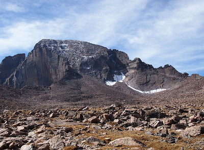 Longs Peak Attempt, September 15, 2012