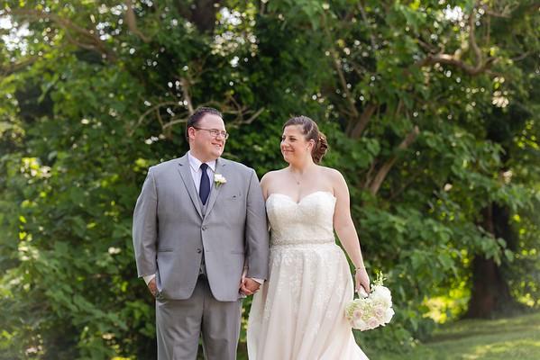Amanda & TJ | A Classic Blush & Navy Wedding Celebration at River Ridge Golf Club in Raleigh, NC