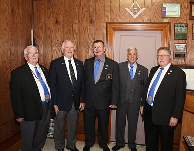 Georgetown Lodge No 480 50yr AWG Presentation 05-09-2019