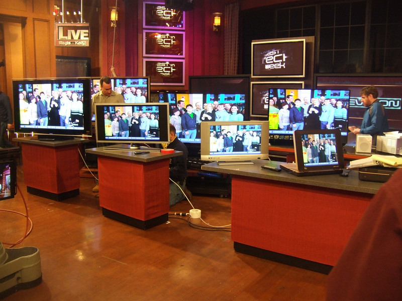 TVs on Regis and Kelly