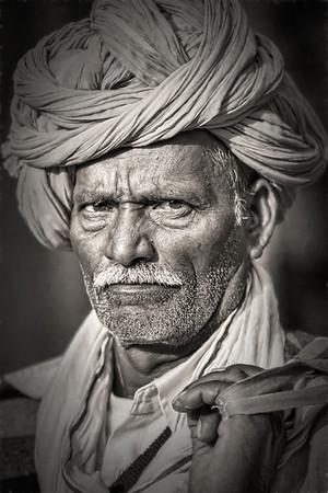 India - B/W Portraits