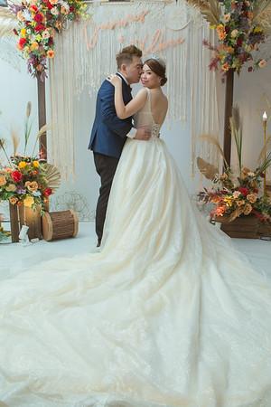 Dannis wedding day