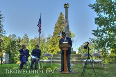 Civil War Memorial Commemoration Ceremony 9-10-2017