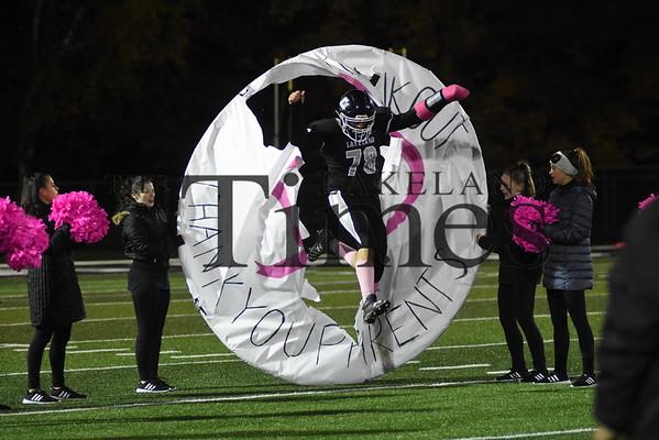 LUHS Football vs. Ashland October 11, 2019