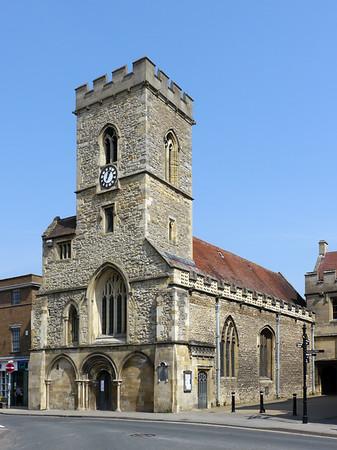 St Nicolas, Church of England, Market Place, Abingdon, OX14 3HL