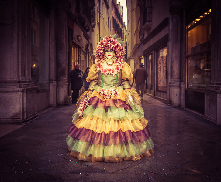 Carnivale In Venice