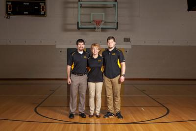 Boys Basketball Posed Team
