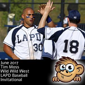 2017-06-01 Wild Wild West LAPD Baseball Invitational