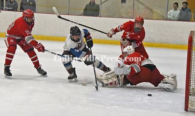 Boys ice hockey,  Winter 2018