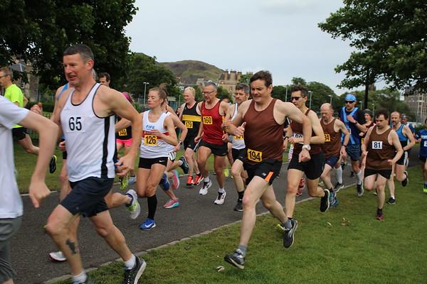 Sri Chinmoy Races 5k, Wednesday 20 June 2018, The Meadows, Edinburgh