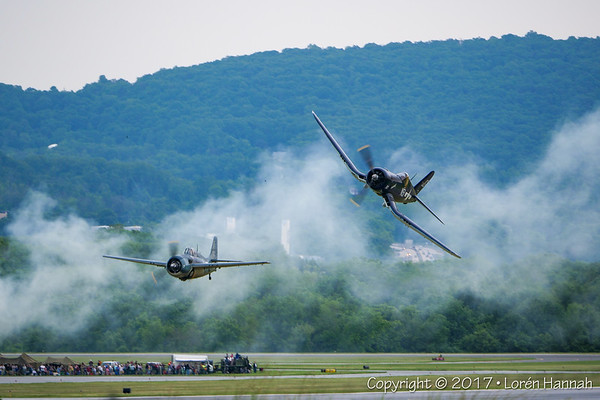 6/4/17 WWII Weekend - (Gray & Rainy) Sunday Airshow - Reading, PA