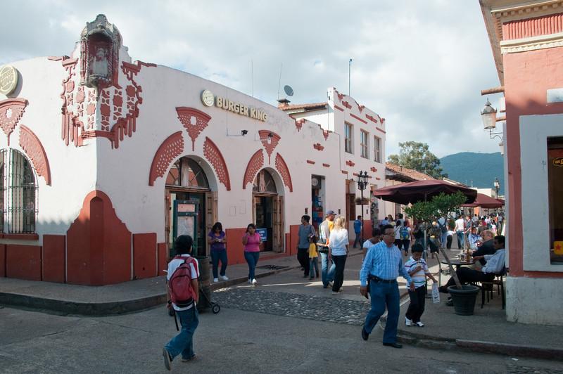 Burger King in San Cristobal