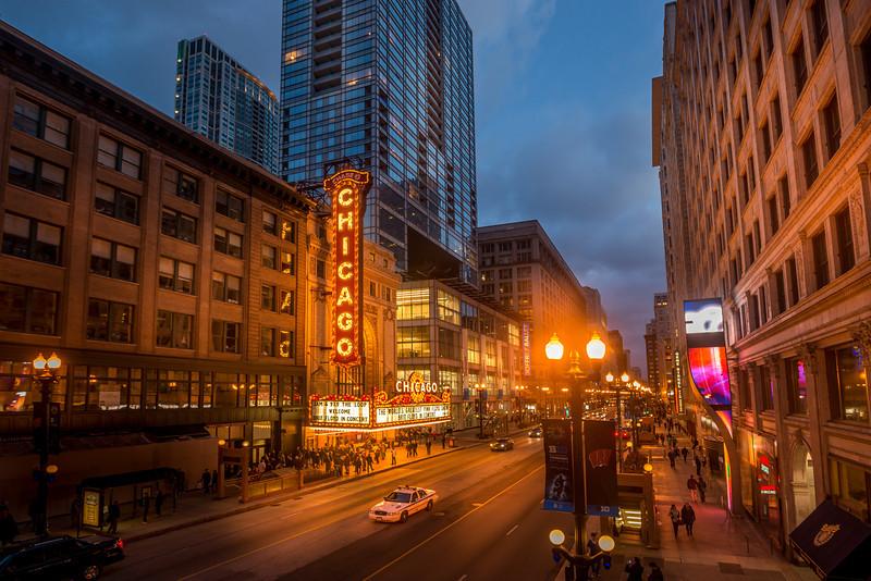 Chicago Theatre On St Patricks Day