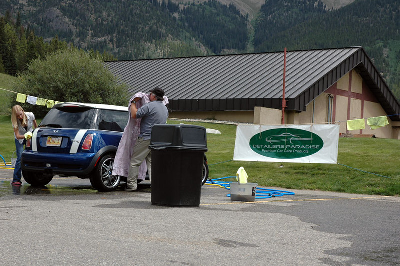 One of the most popular areas of MITM was the do-it-yourself (DIY) car wash, sponsored by Detailers Paradise in Denver.