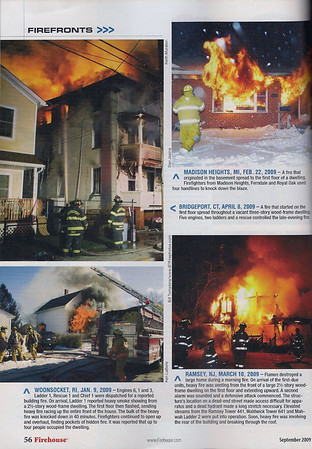 CFPA Members In Firehouse Magazine 2009