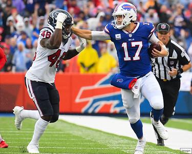 NFL: Texans at Bills: 10/3/21