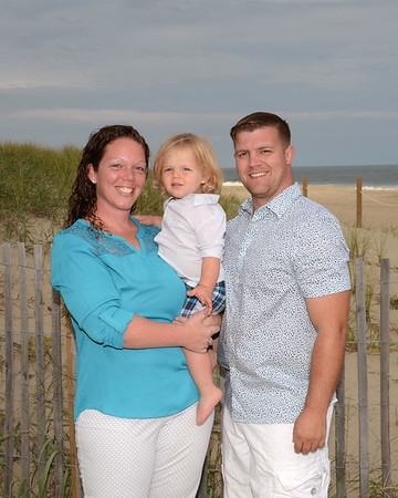 Dougherty Family Beach Portraits Sept. 12, 2017